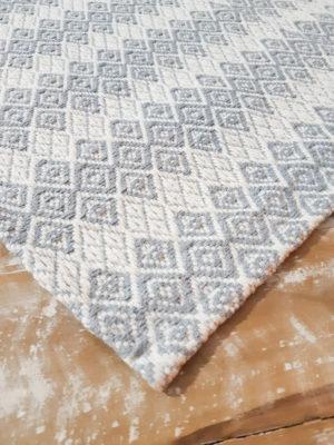 Tapete Cinza Cristal Volpe Têxtil