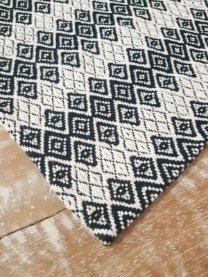 Tapete Cristal Preto Volpe Têxtil