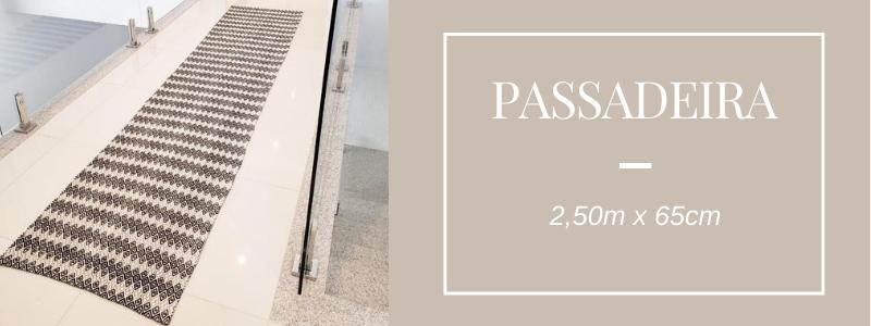 Passadeira 2,50m Volpe Têxtil